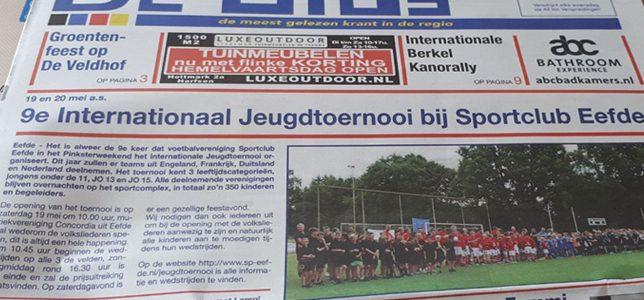 Artikel in Weekblad De Gids